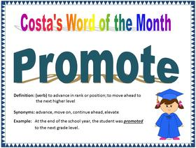 Costa's Word of the Month