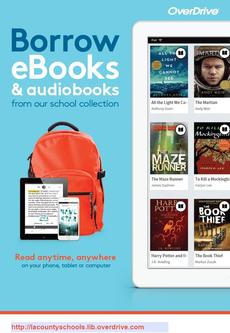 Borrow eBooks with OverDrive