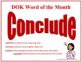 DOK Word of the Month